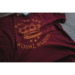 ROYAL BLOOD. OXBLOOD.